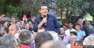Επίσκεψη Αλέξη Τσίπρα στη Θεσσαλία