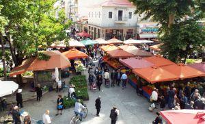 Με τα έργα στη λαϊκή αγορά αρχίζει η ανάπλαση των Τρικάλων