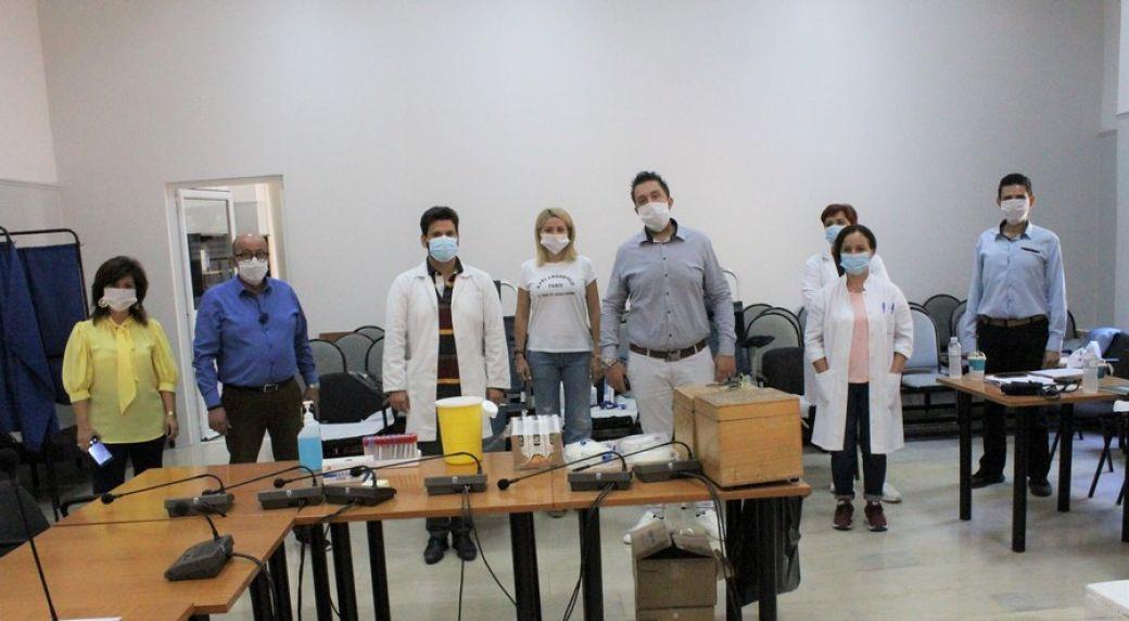 Πραγματοποιήθηκε η εθελοντική αιμοδοσία στον Δήμο Φαρκαδόνας