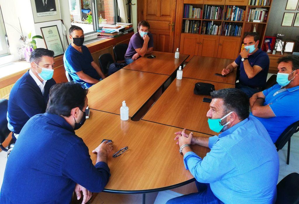 Στον Δήμαρχο Τρικκαίων ο πρόεδρος της ΠΟΕ ΟΤΑ με φόντο τη συνεργασία για την πανδημία