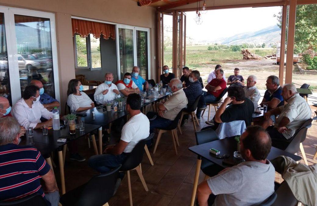 Στο Ζάρκο οι πρώην Υπουργοί Ανάπτυξης Αραχωβίτης-Τελιγιορίδου