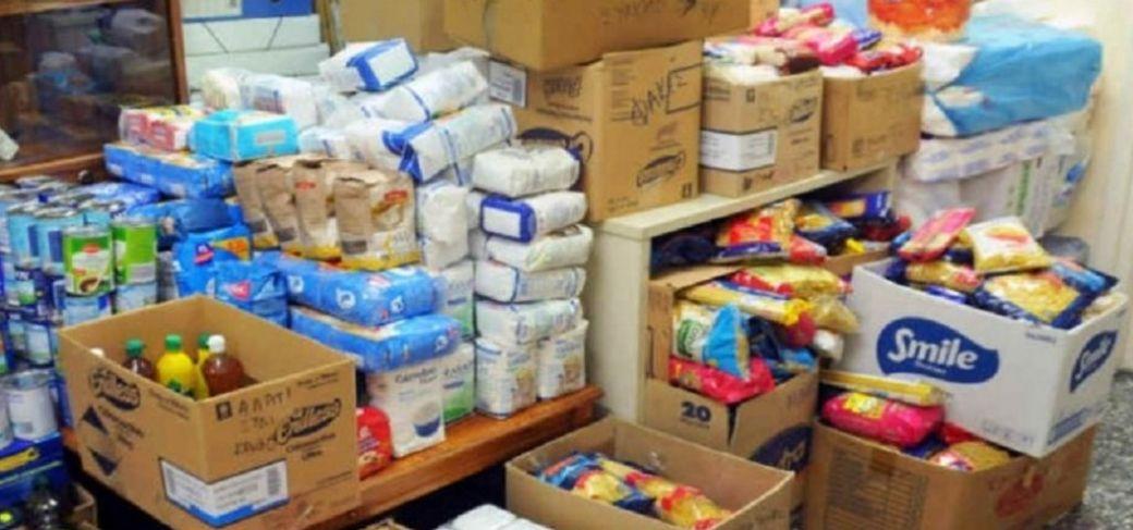 Διανομή τροφίμων ΤΕΒΑ στην Παναγίτσα