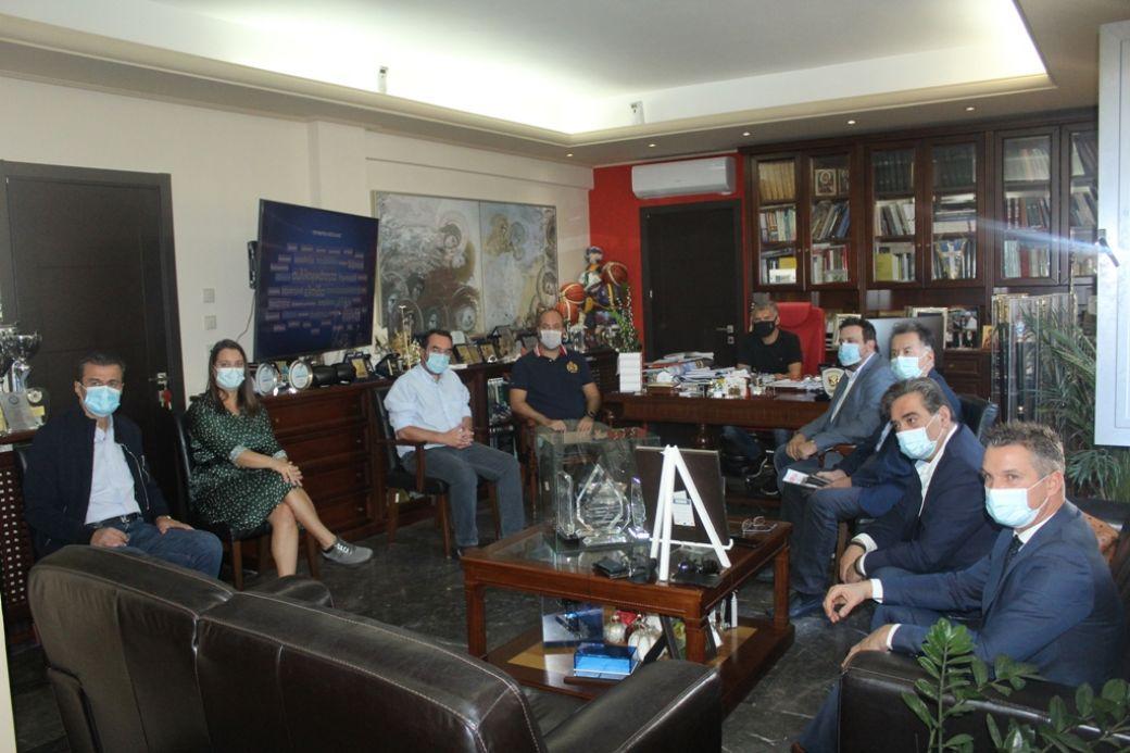 Σύσκεψη για τον περιορισμό της διασποράς του κορωνοϊού στην Περιφέρεια Θεσσαλίας