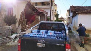 Δράσεις αλληλεγγύης  του ΚΚΕ & της ΚΝΕ στην Καρδίτσα