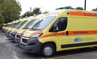 Ενισχύεται με 10 νέα σύγχρονα ασθενοφόρα το ΕΚΑΒ στη Θεσσαλία