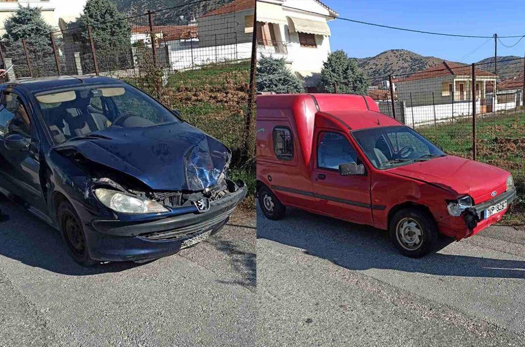 Τροχαίο ατύχημα στην Οιχαλία